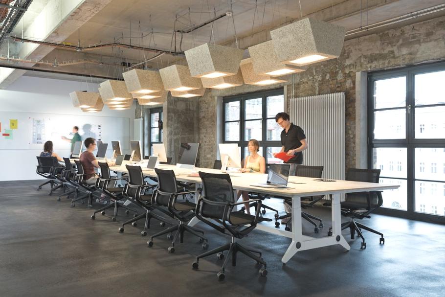 Дизайн конференц зала в офисе SoundCloud