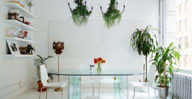 Живые цветы в интерьере офиса: как добавить красок в серые рабочие будни