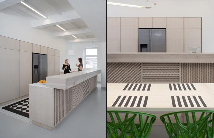 Кухонный остров в штаб-квартире u2i