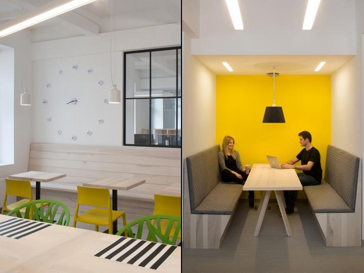 Уютные кабинки для сотрудников в штаб-квартире u2i