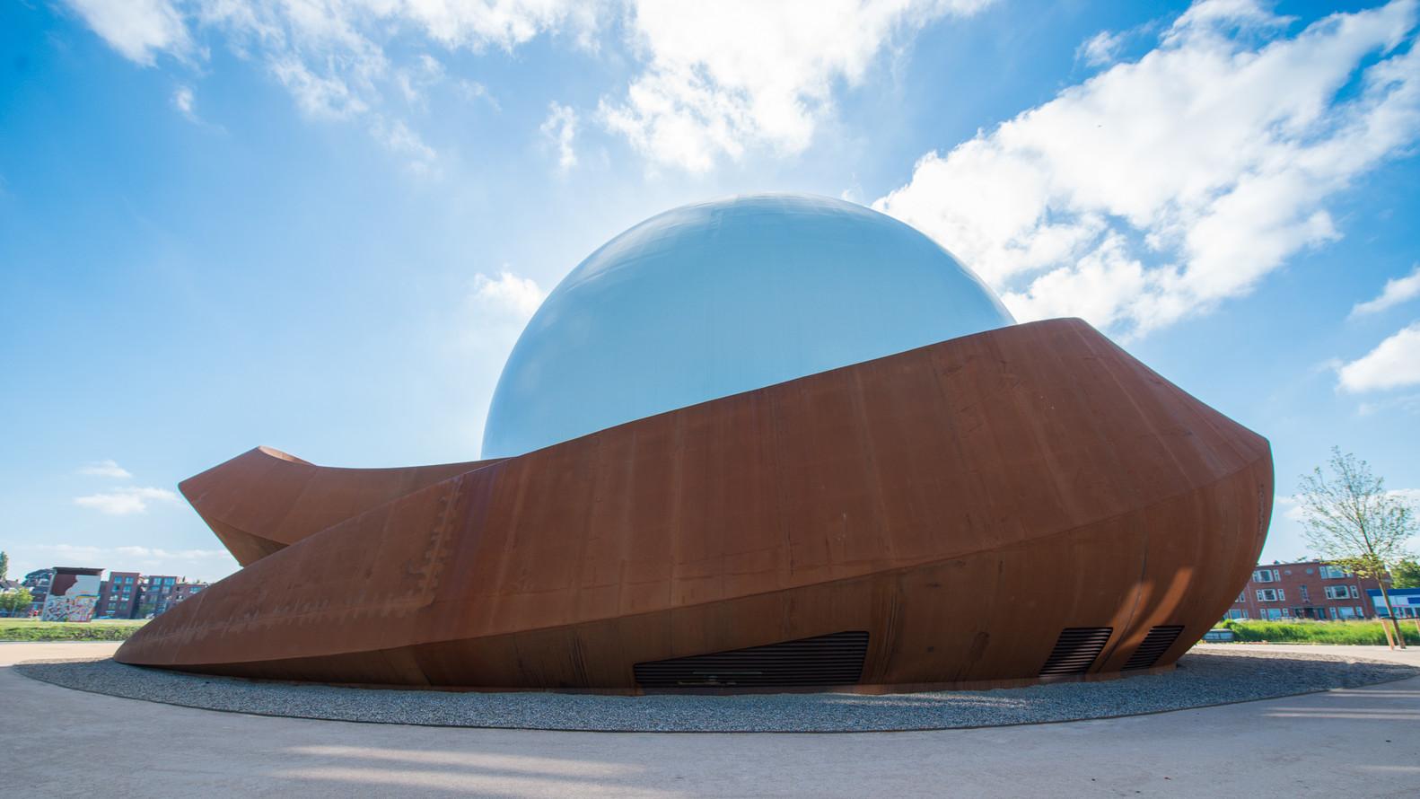 Уникальный планетарий с необычным фасадом