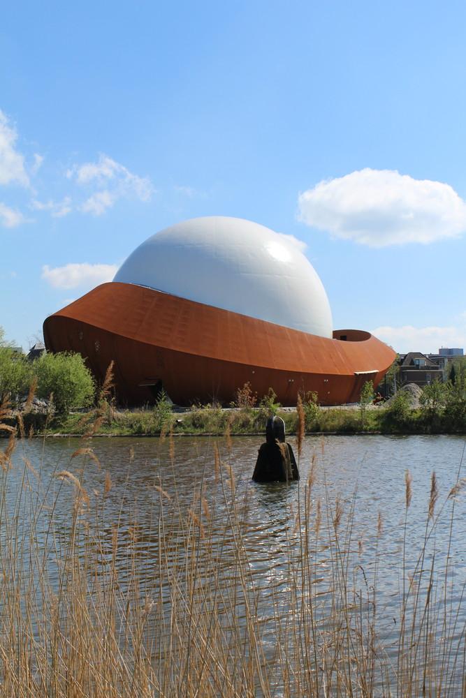 Необычный фасад планетария - Фото 7