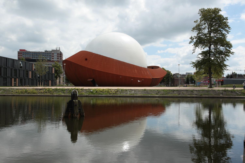 Оригинальный экстерьер здания планетария - Фото 3