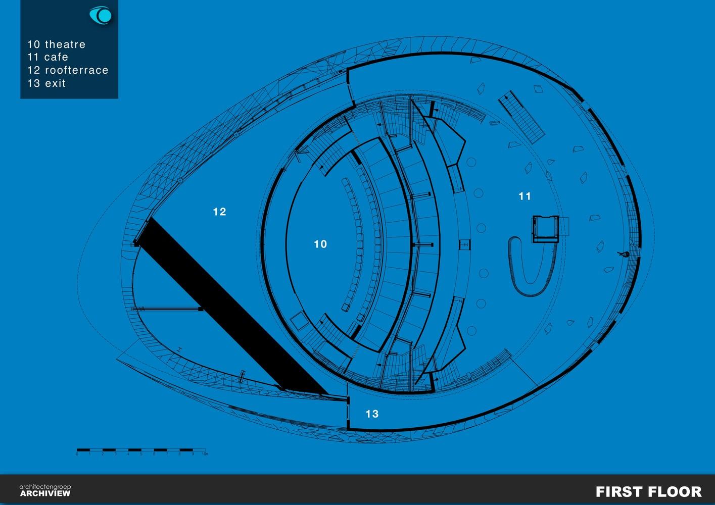 План здания планетария - Фото 1