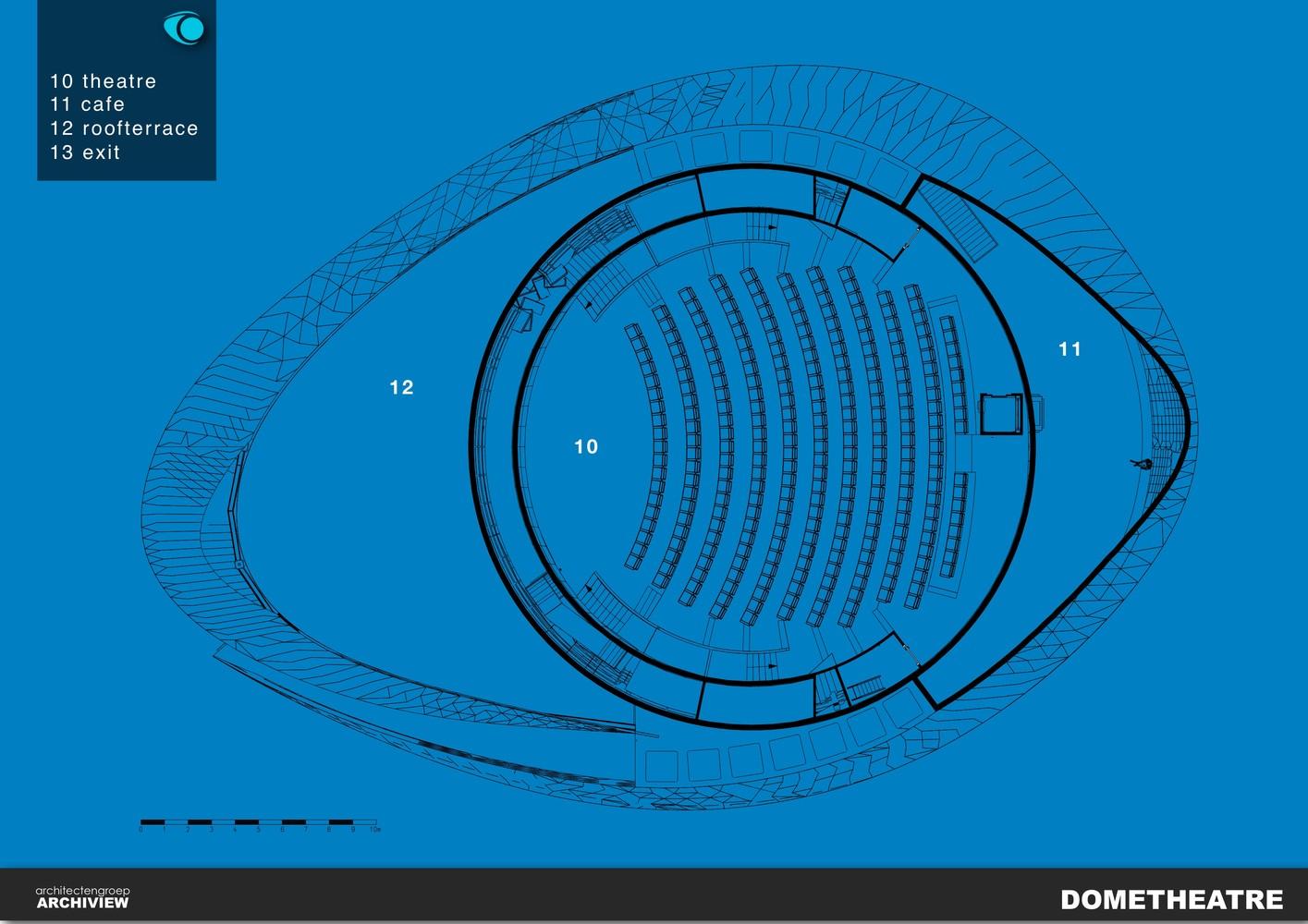 План здания планетария - Фото 2