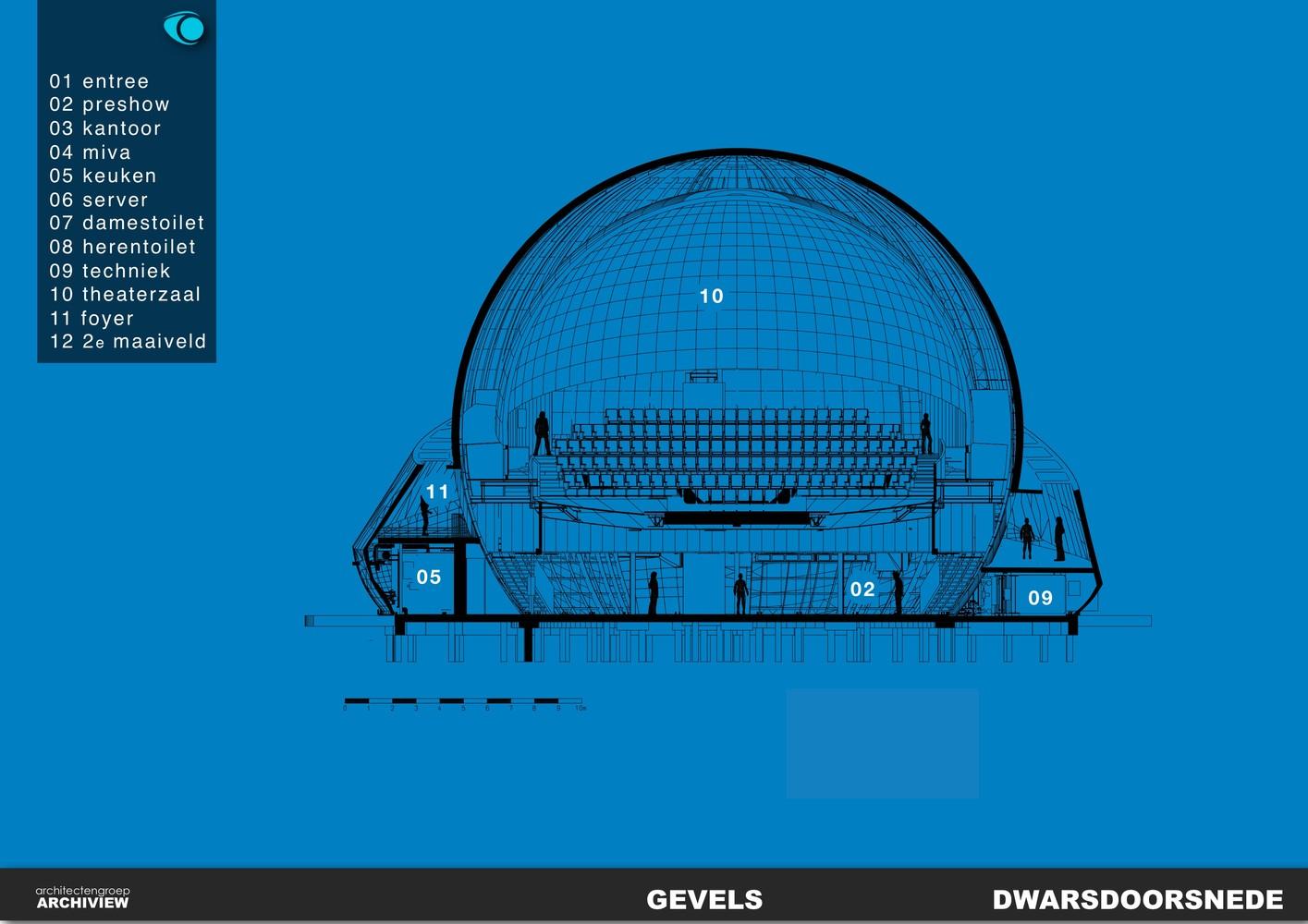 План здания планетария - Фото 4