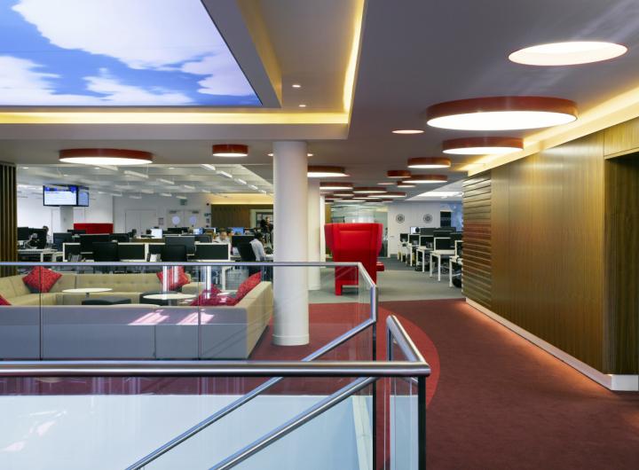 Новая штаб-квартира Virgin Money от Spacelab