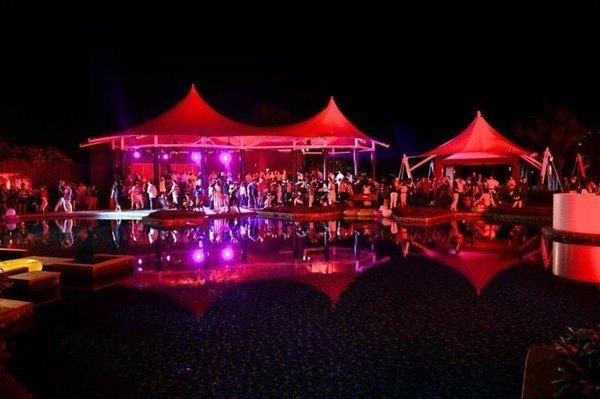 Зажигательная вечеринка Lacoste After-Party на выставке суперяхт