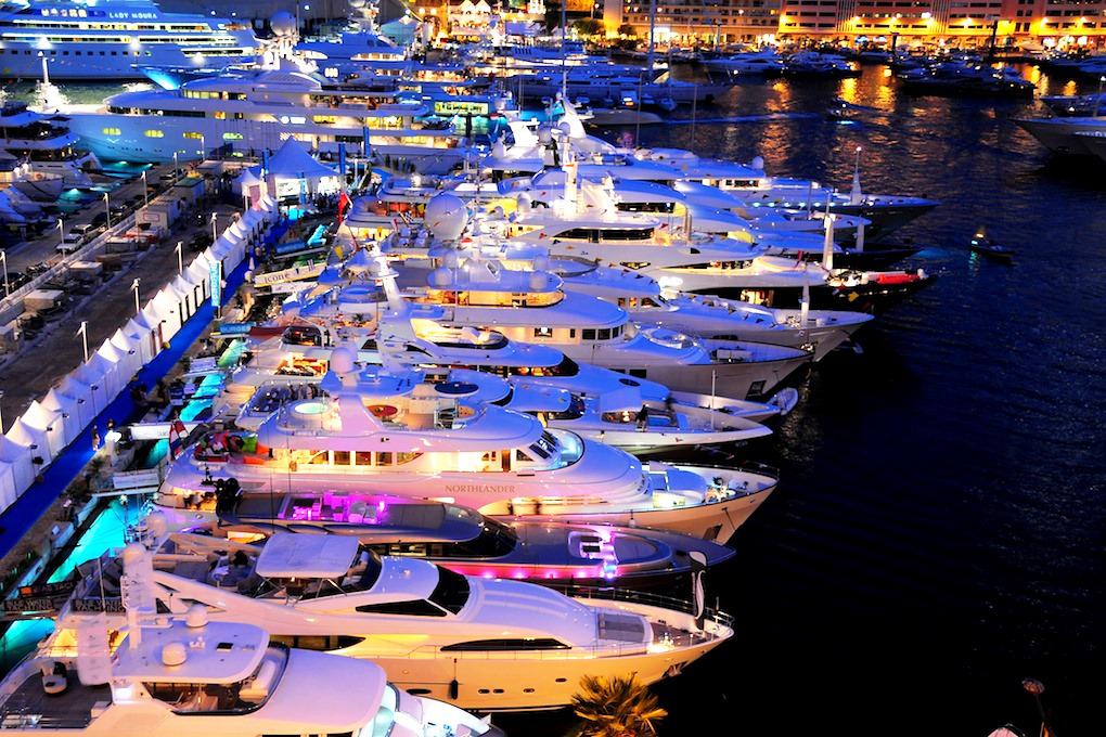 Ежегодная выставка Monaco Yacht Show