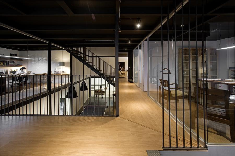 Дизайн интерьера современного офиса продакшн студии