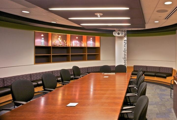 Конференц-зал в офисе