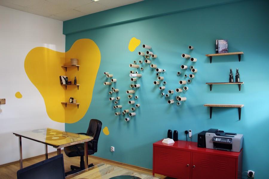 присоединяюсь оформление стен офиса фото необычайно большие
