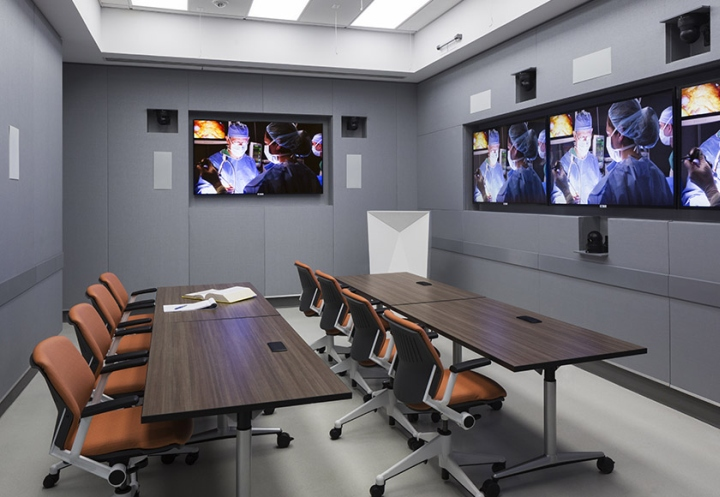 Дизайн клиники хирургии Weill Cornell созданный Dattner Architects, Нью-Йорк