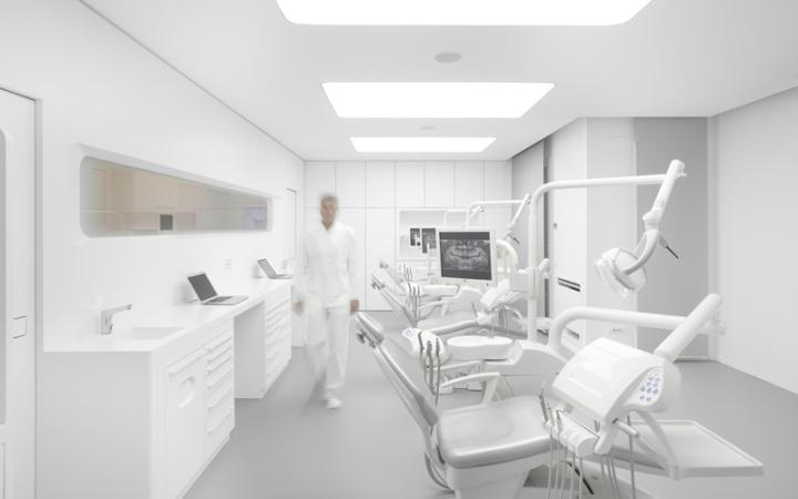 Оформление стоматологического кабинета в клините White Space Orthodontic