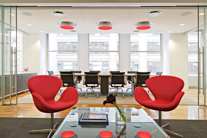 Роскошный офис компании Winklevoss Capital Management в Нью-Йорке