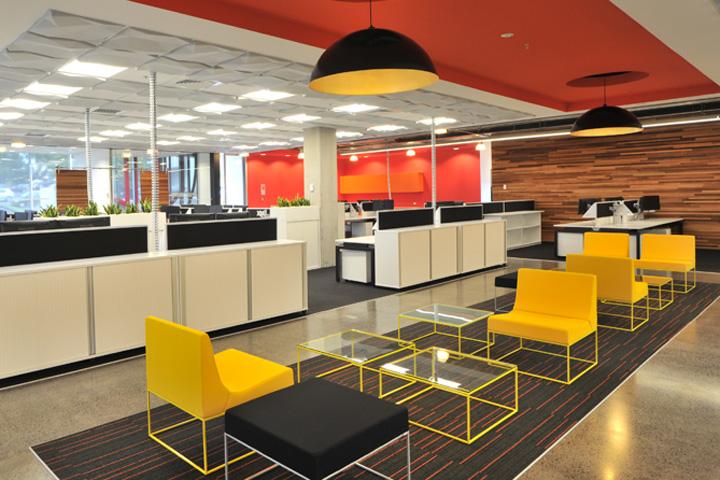Дизайн интерьера офиса, Окленд, Новая Зеландия