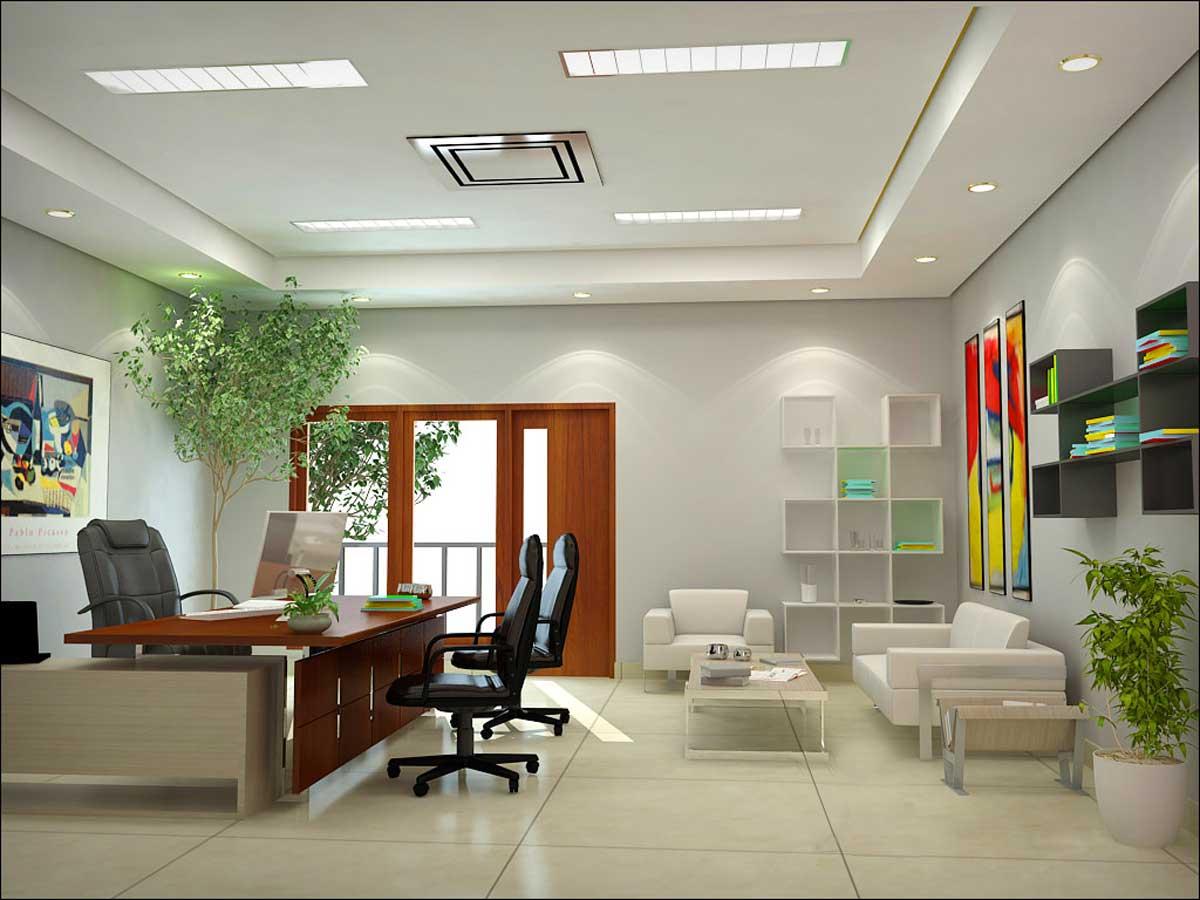 Дизайн офиса самостоятельно
