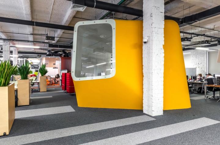 Офис Yandex в Строганова, Москва