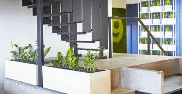 Яркий дизайн офиса 99с