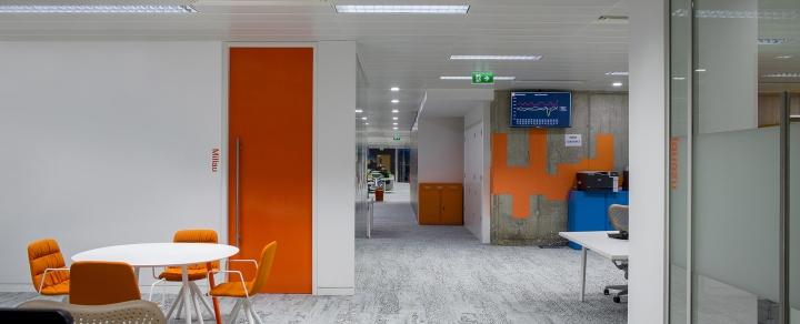 Яркий интерьер офиса Hostelworld - фото 5