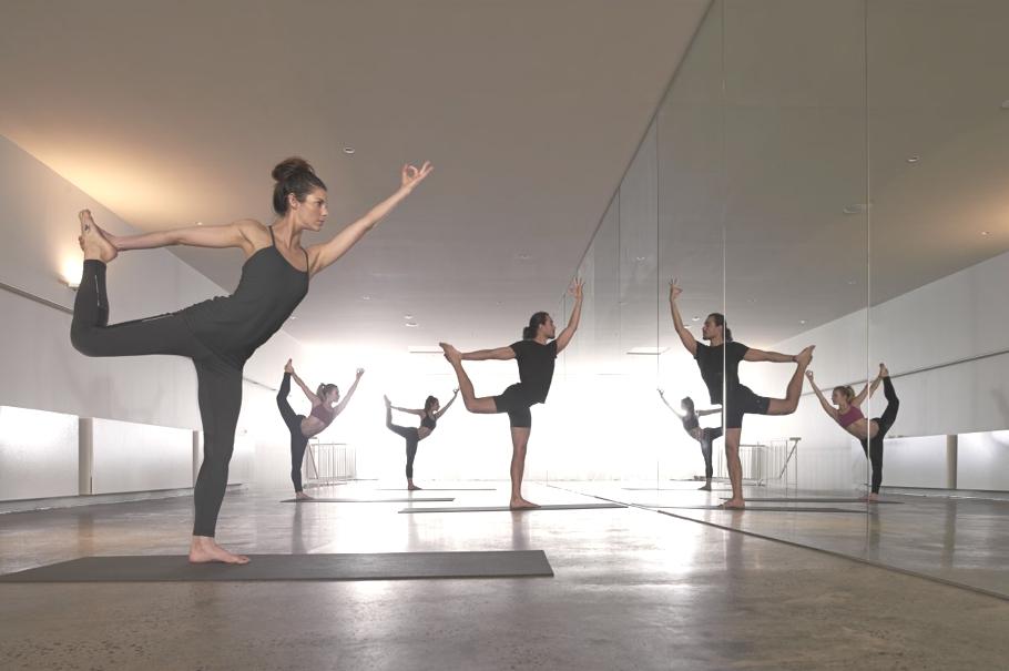 Йога-студия в Мельбурне от Rob Mills