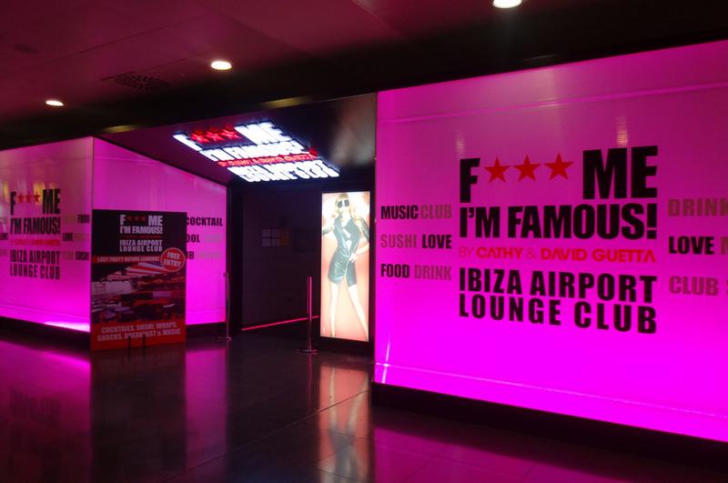 Клуб зала ожидания DJ David Guetta's в аэропорту Ибицы - фото 2