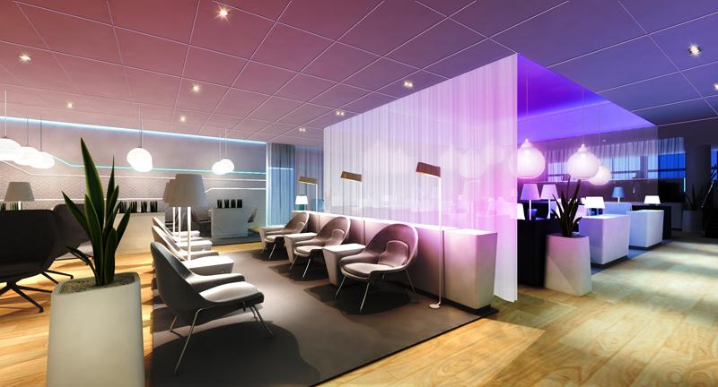 Зал ожидания аэропорта в Хельсинки - фото 2