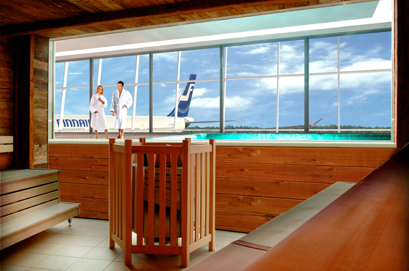 Зал ожидания аэропорта в Хельсинки - фото 7