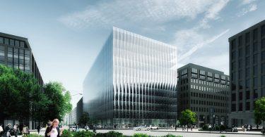 Футуристическое здание со стеклянным фасадом появится в деловом центре Вашингтона