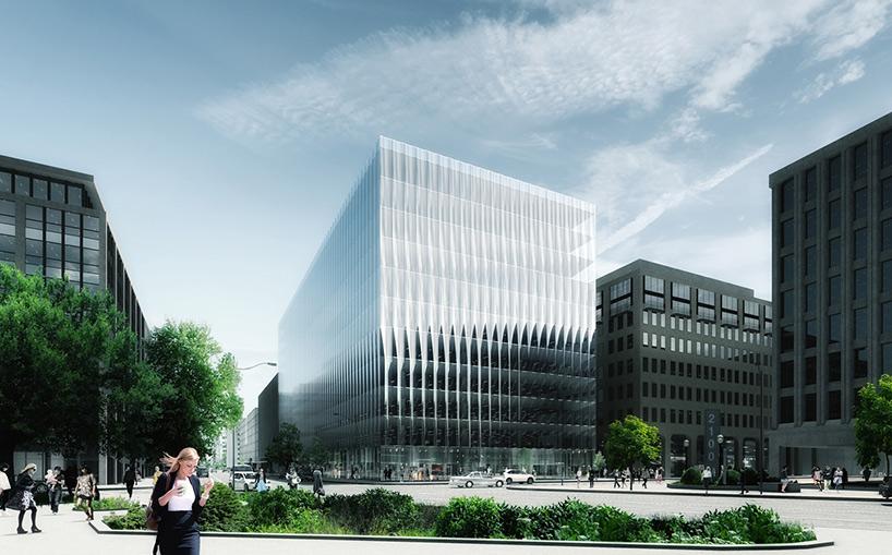 Здание со стеклянным фасадом: проект - Фото 1