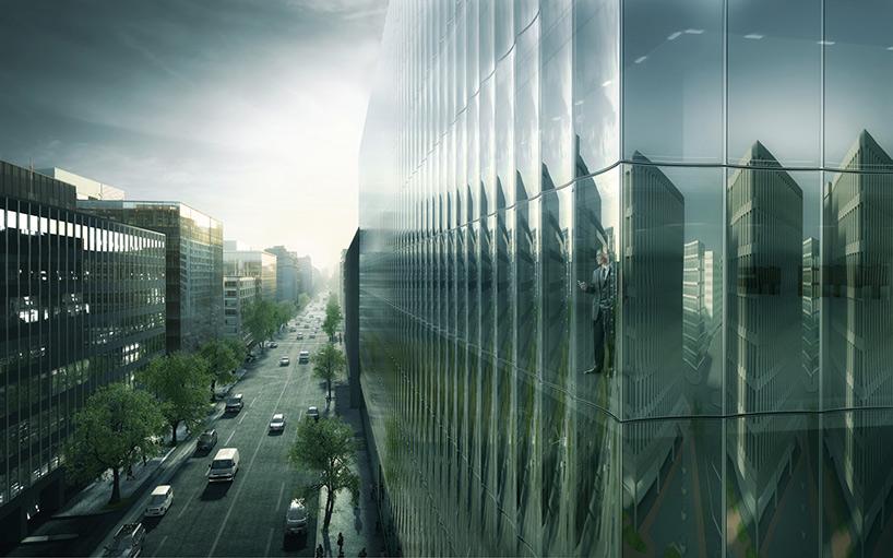 Здание со стеклянным фасадом: проект - Фото 3