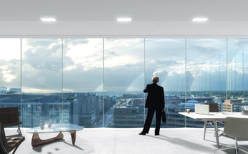 Здание со стеклянным фасадом: проект - Фото 5