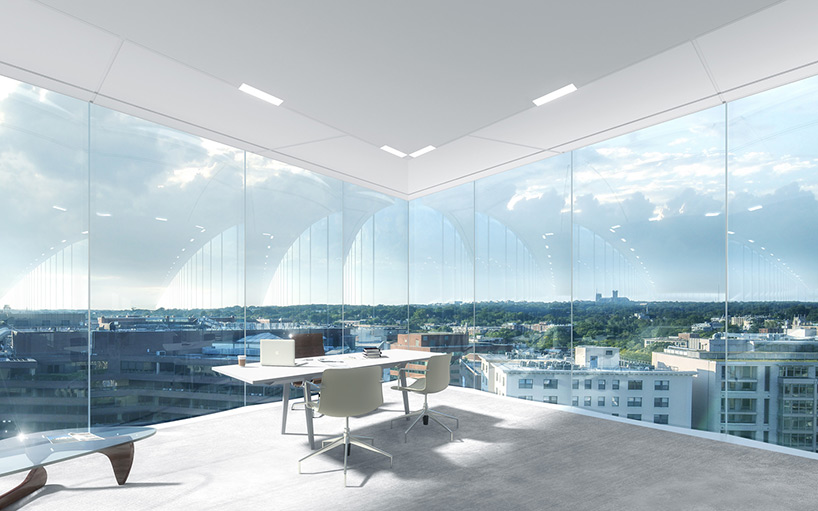 Здание со стеклянным фасадом: проект - Фото 4
