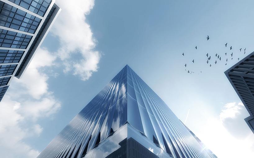 Здание со стеклянным фасадом: проект - Фото 2