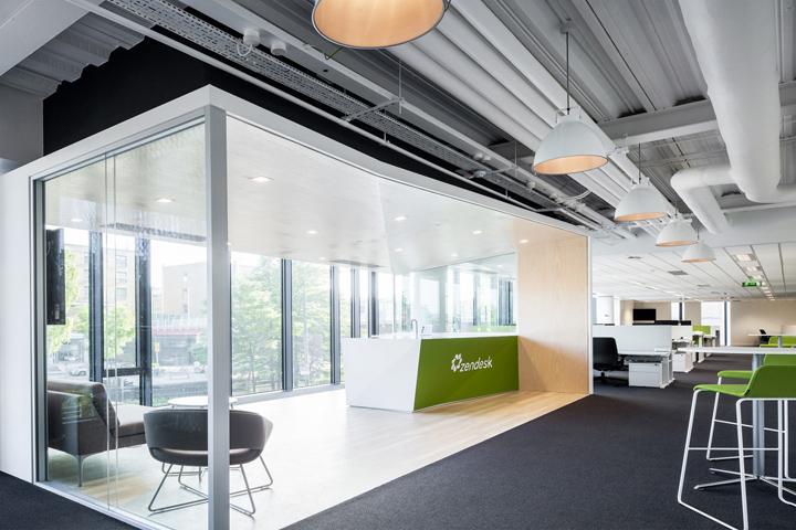 Оформление штаб-квартиры известной корпорации Zendesk