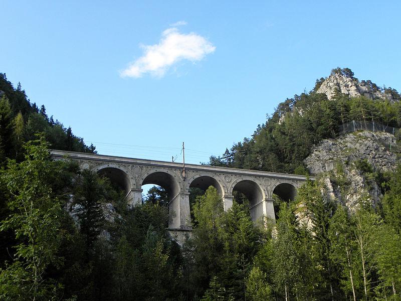 Железная дорога в Альпах